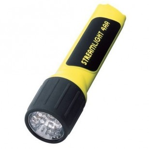 4AA Propolymer LED box with battery, Yellow รหัส 68201