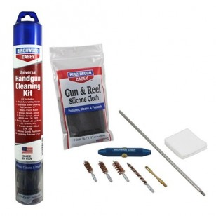 Universal Handgun Cleaning Kit รหัส 41601 (แถมฟรี Synthetic Gun Oil 1 ขวด)