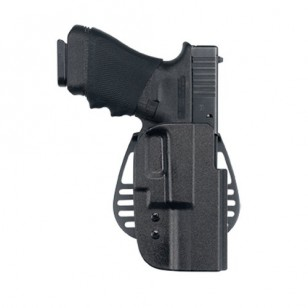 Uncle Mike's Kydex Belt Slide Holsters: Glock17 19 22 23 25 31 32 (Right) รหัส 53211