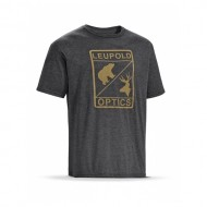 Leupold SS L Optics Tee Graphite Heather XL รหัส 170540