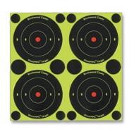 """Shoot-N-C Self-Adhesive Targets, 3"""" Bull's-Eye 48 Targets, 144 Pasters รหัส 34315"""